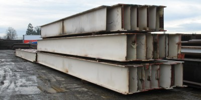 Foundation Supply steel beams